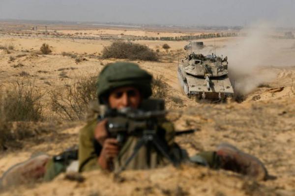 جيش الاحتلال يبدأ اليوم مناورات عسكرية بمناطق غلاف غزة.. وهذا هدفها