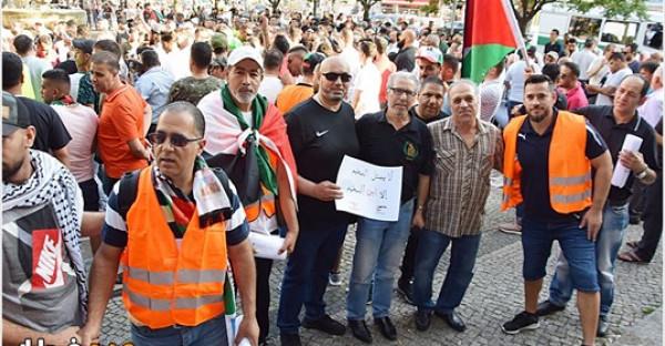 وقفة غضب في برلين رداً على قرارات وزير العمل اللبناني
