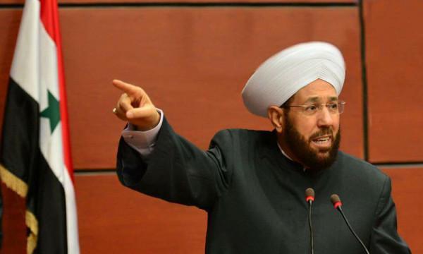 مفتي سوريا يوجّه رسالة إلى حركة حماس