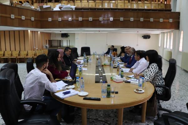 اجتماع أول للجنة الفنية لمشروع مدينة بيت لحم عاصمة الثقافة العربية 2020