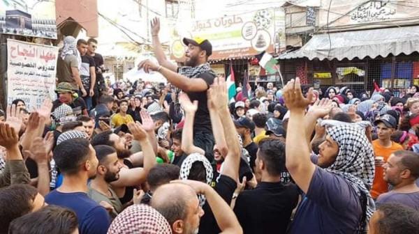 الاتحادات الشعبية الفلسطينية تُعلن تضامنها مع فلسطينيي لبنان