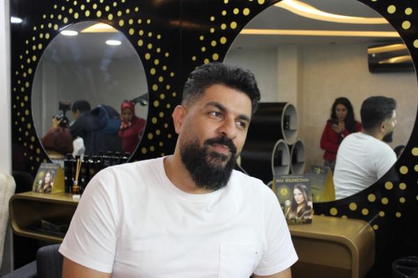 خبير الشعر العالمي أحمد سليمان يفتتح مركزا للتجميل بالجديدة