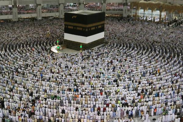 وصول حوالي 1.8 مليون حاج إلى المشاعر المقدسة