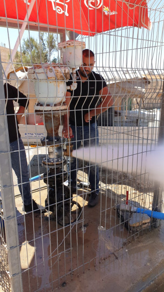 سلطة المياه: مشكلة توزيع المياه في بيت تعمر انتهت
