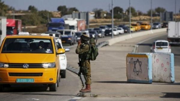 """بيت لحم: الاحتلال يمنع المواطنين من عبور حاجز """"الكونتينر"""""""