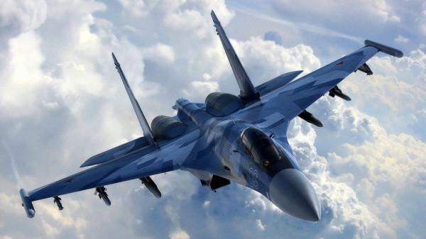 مقاتلة للناتو تحاول الاقتراب من طائرة وزير الدفاع الروسي وطائرات (سو27) تتدخل