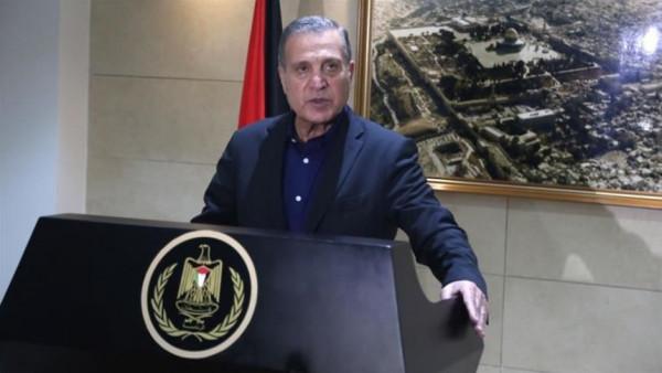 الرئاسة الفلسطينية تُوجه تحذيراً لإسرائيل بسبب تصريحات الوزير اردان
