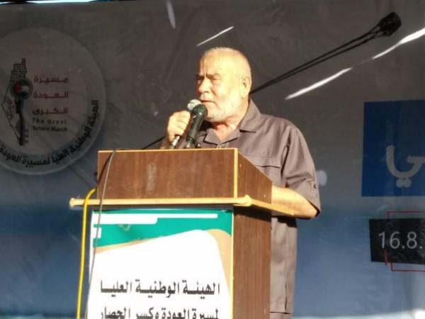 بحر: غزة ستشارك في أي معركة دفاعاً عن القدس