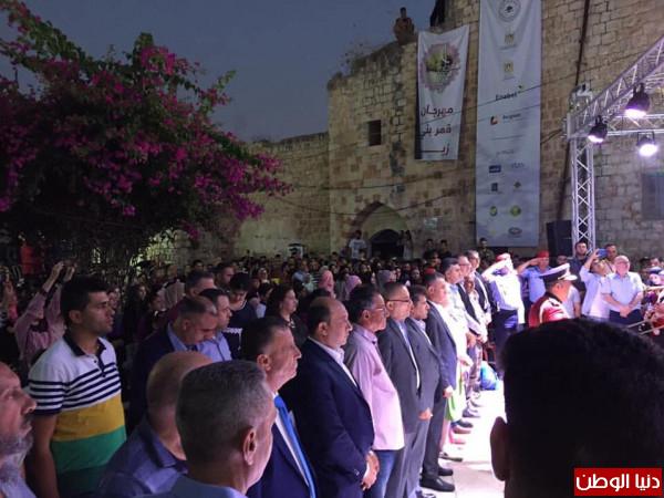 """أبو سيف"" يفتتح مهرجان قمر بني زيد"