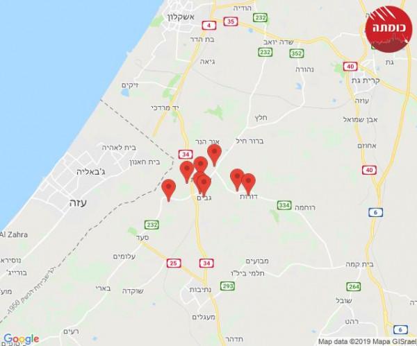 فيديو: الجيش الإسرائيلي يُعلن اعتراض صاروخين أطلقا من غزة وسقوط ثالث بمنزل بـ (سديروت)