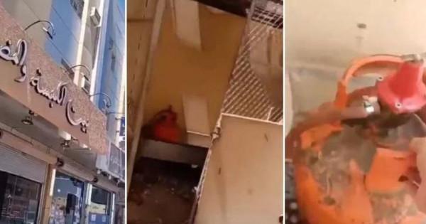 شاهد أغرب رد فعل لسعودي حين اكتشف سرقة 15 إسطوانة غاز من مطعمه