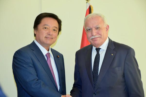 المالكي يستقبل رئيس لجنة العلاقات الخارجية في البرلمان الياباني ويطلعه على المستجدات