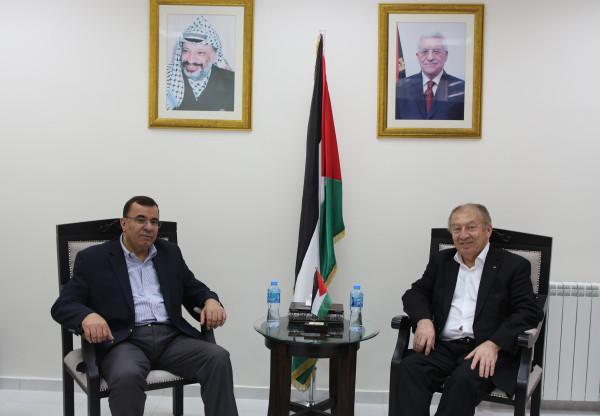 العسيلي وسفير البرتغال يبحثان سبل تطوير علاقات التعاون الاقتصادية بين البلدين