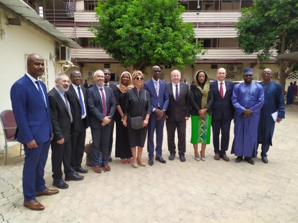 وفد إسرائيلي كبير يزور جمهورية تشاد الإفريقية