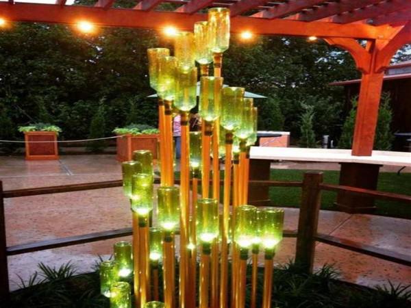 أفكار مبتكرة لإنارة الحديقة بطريقة عصرية