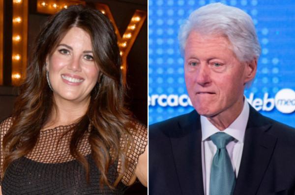 """""""كلينتون يرتدى فستان مونيكا"""" في منزل الملياردير المنتحر إبستين"""