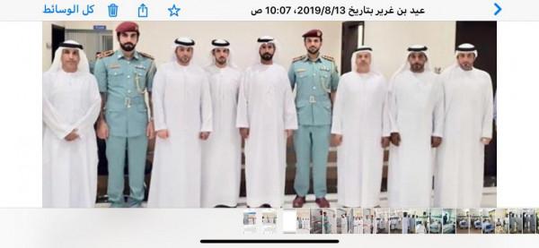 رئيس المجلس البلدي لمدينة الذيد وأعضاء المجلس يبادرون بزيارة مرضى مستشفى الذيد