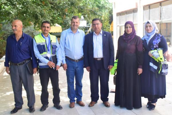 الشلالدة يزور جامعة بولتكنك فلسطين في الخليل