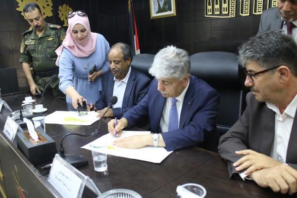 مديرية التنمية الاجتماعية توقع إتفاقية البوابة الموحدة مع جمعية التعاون للتنمية المجتمعية