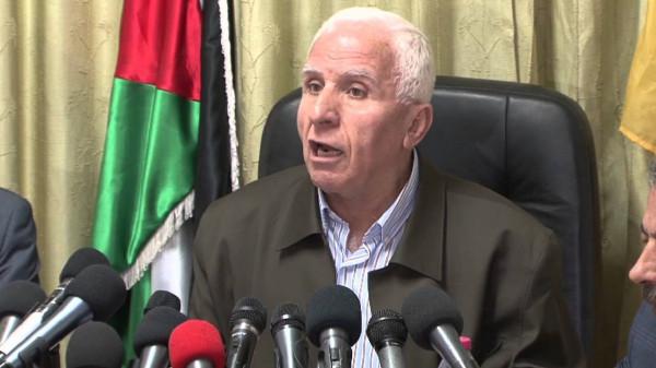 منظمة التحرير تنفي تصريحات منسوبة لـ (الأحمد) على لسان وزير لبناني