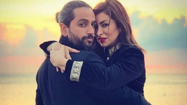 جمهور ديما بياعة يفتح عليها النار بسبب صورها الجريئة مع زوجها