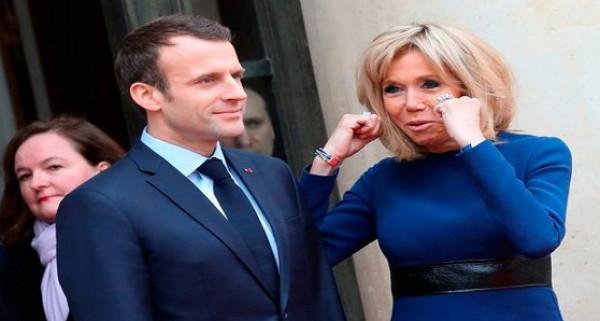 أول ظهور رسمي لسيدة فرنسا الأولى بعد الخضوع لعملية تجميل