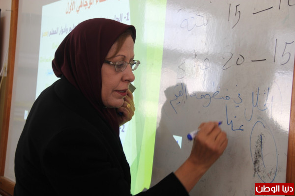 تربية قلقيلية تفتتح ورشة التهيئة للمعلمين الجدد