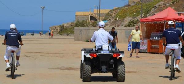 الأمـن الوطني: فرق شرطة الشواطئ والدراجات الهوائية في خدمة المواطنين والمصطافين