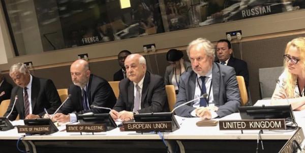 فلسطين تقود مجموعة 77 والصين في المفاوضات حول قانون البحار
