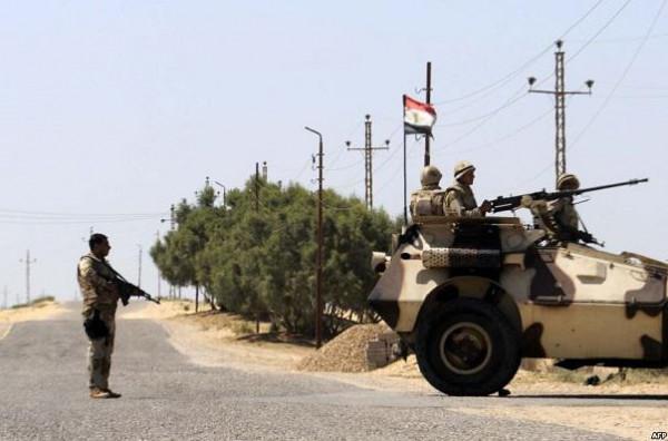 """مصر تعلن مقتل 11 """"إرهابياً"""" في شمال سيناء"""
