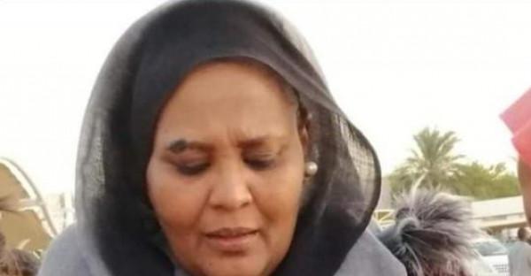 مريم الصادق المهدي تثير الجدل بسبب تحية عسكرية