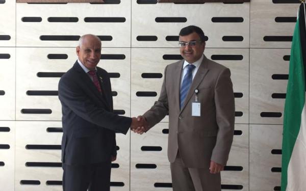 سفير دولة الكويت في رومانيا يستقبل الدكتور عياش   دنيا الوطن