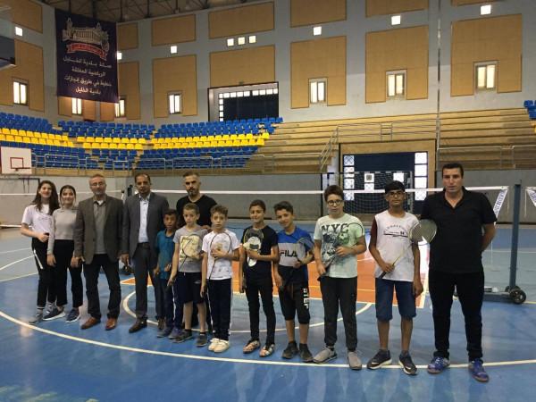 دراغمة ينطلق بنشاطات الاتحاد الفلسطيني لألعاب المضرب من الخليل