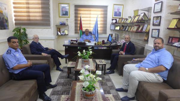 سفير جمهورية سلوفاكيا لدى دولة فلسطين يشيد بأداء شرطة محافظة بيت لحم
