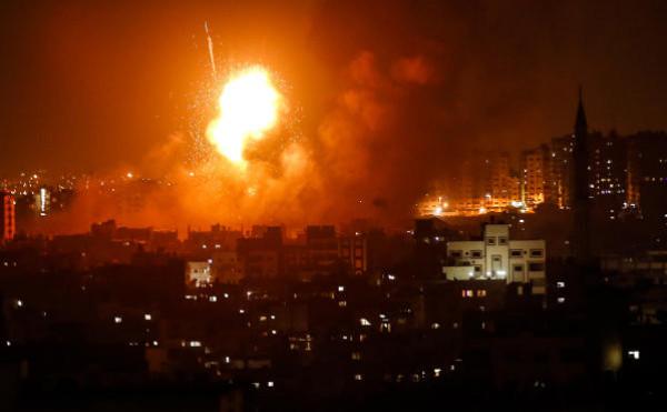 فيديو: تجدد القصف الإسرائيلي على قطاع غزة