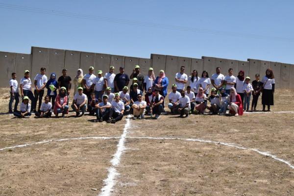أكشن إيد- فلسطين تواصل أنشطتها بمناسبة اليوم العالمي للشباب