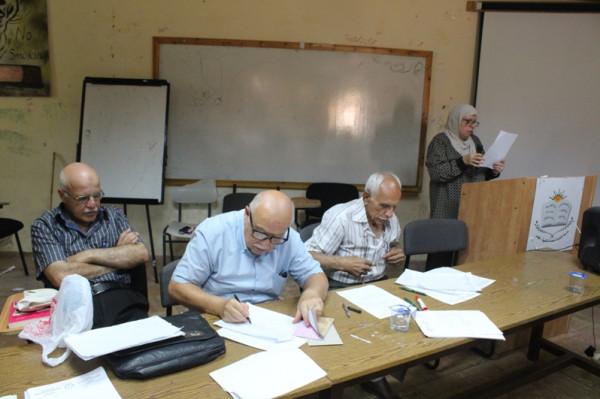 جمعية المعلمين المتقاعدين المقدسيين تنتخب أعضاء هيئتها الادارية