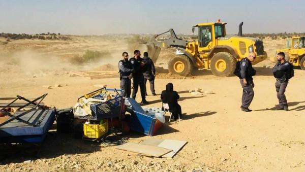 الشرطة الإسرائيلية تهدم قرية العراقيب للمرة 150