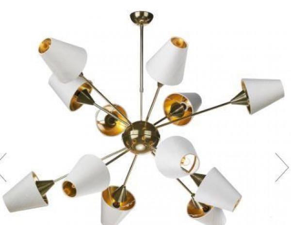 طرق تنسيق إضاءات النجف مع ديكورات غرف منزلك