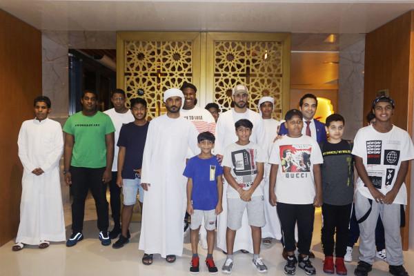 بالتعاون مع دائرة الثقافة والسياحة:فندق باب القصر يستضيف أطفال جمعية بيت الخير
