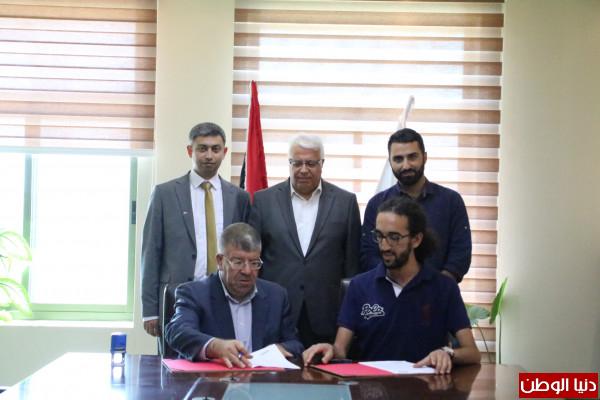 صور: جامعة بوليتكنك فلسطين توقع اتفاقية لتأسيس نادي فلكي في الجامعة