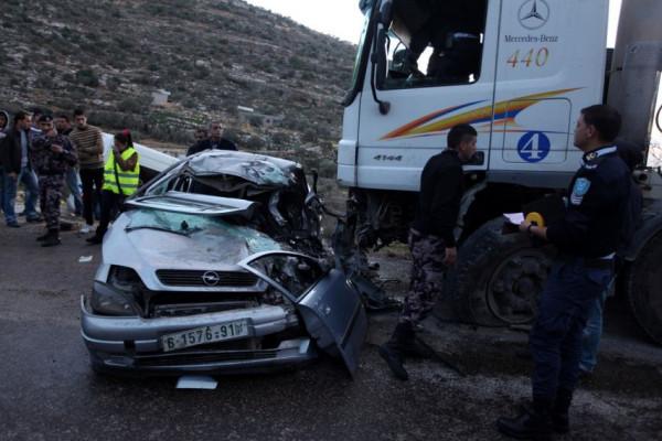 مصرع ثلاثة أشخاص وإصابة 215 آخرين في 256 حادث سير الأسبوع الماضي