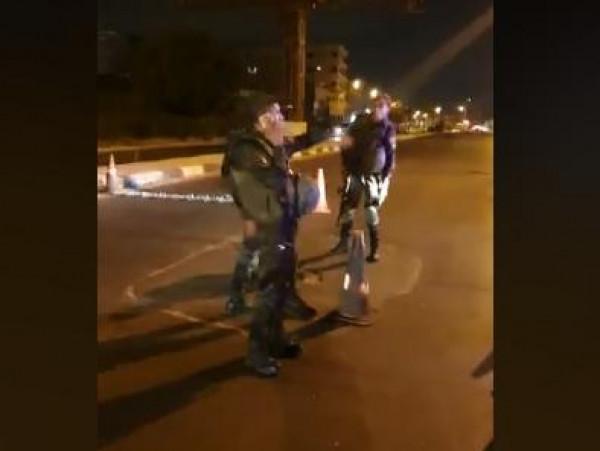 """فيديو: قوات """"الأمن الوطني"""" تجبر جيش الاحتلال على الإنسحاب من شارع """"القدس"""""""