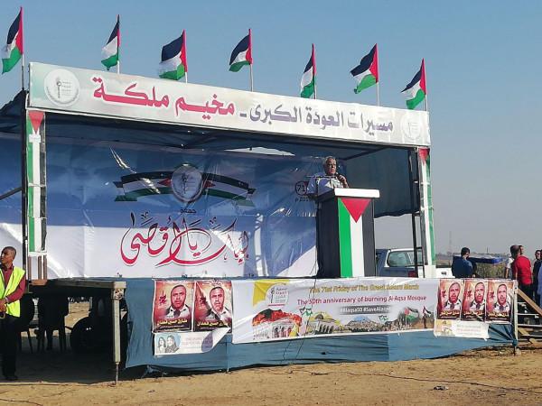 صالح ناصر: إجراءات الاحتلال لن تثني شعبنا عن مواصلة نضاله ومقاومته