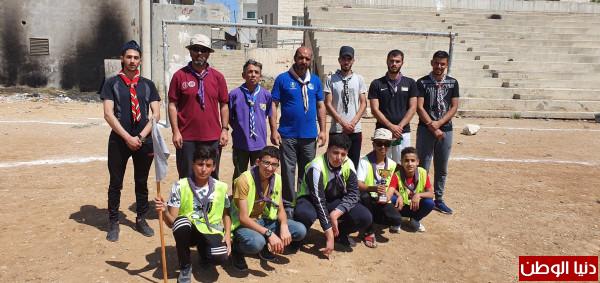 مجموعة عائدون الكشفية تفتتح مخيمها التدريبي الثاني