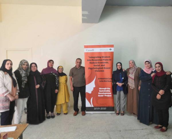 """""""المركز الفلسطيني""""يعلن انطلاق مشروع دمج النساء بخطط الاستجابة للحد من العنف الاقتصادي"""