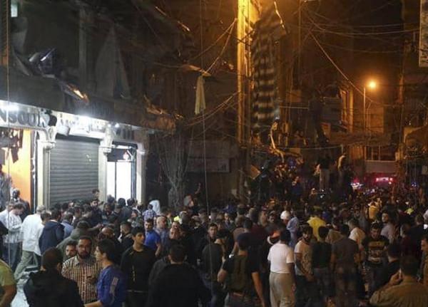 """فيديو وصور: سقوط """"طائرتي استطلاع """"إسرائيليتَين"""" في الضاحية الجنوبية"""