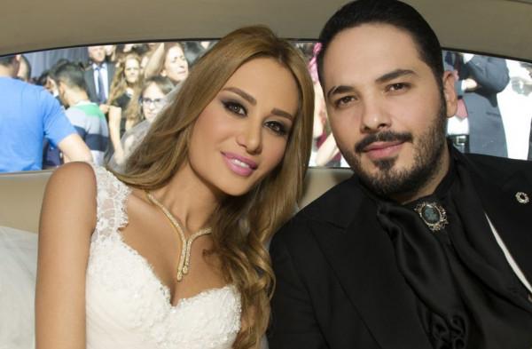 رامي عياش يستشهد بحديث نبوي لمعايدة زوجته بعيد ميلادها