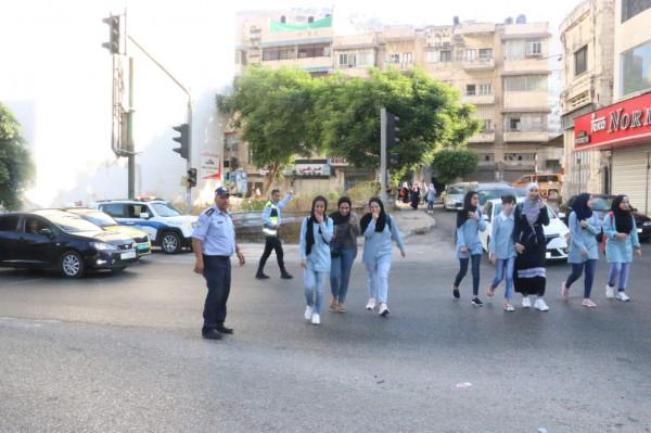 الشرطة تؤمن الطرق للطلبة مع بداية العام الدراسي الجديد