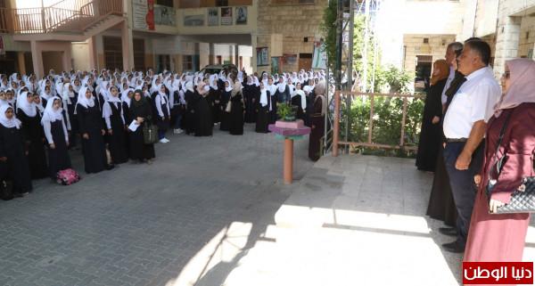 الفرا يؤكد انتظام 35 ألف طالبٍ وطالبة بمدارس تعليم خان يونس